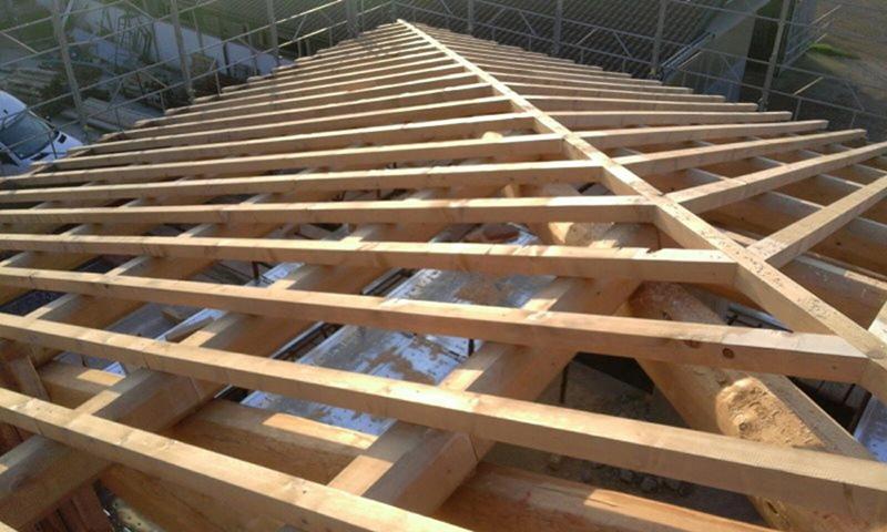 Tetto a padiglione tetto a padiglione with tetto a for Inquadratura del tetto del padiglione